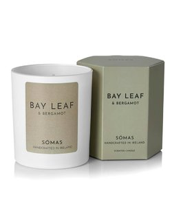 Bay Leaf and Bergamot Scented Soy Candle