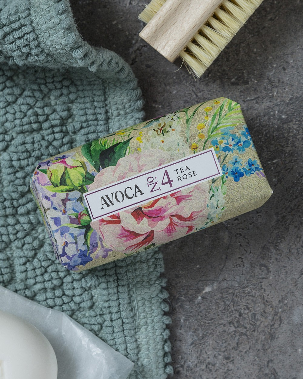 Avoca No 4 Soap - Tea Rose 150g