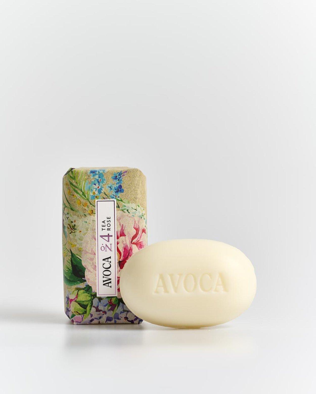 No. 4 Tea Rose Soap Bar