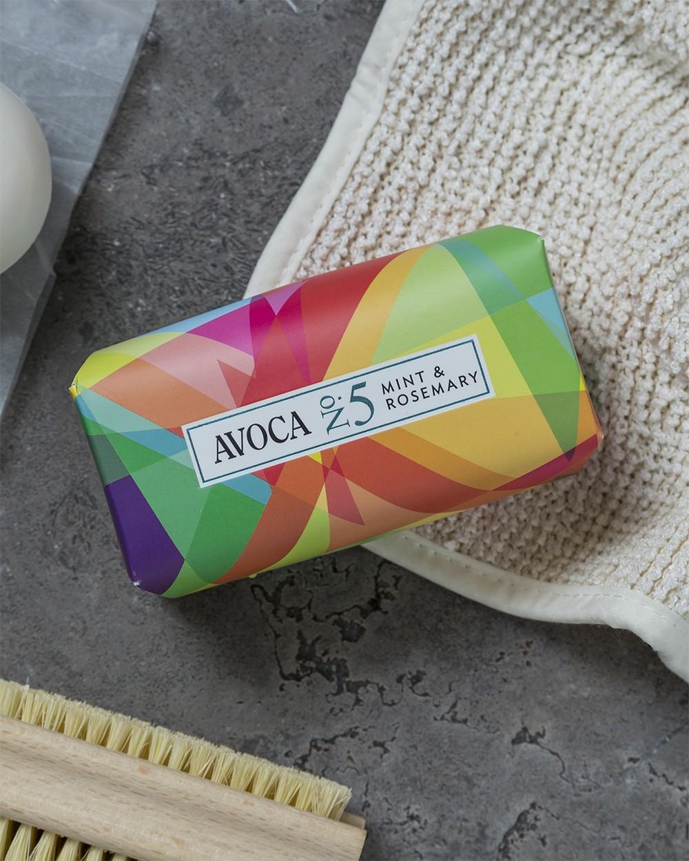 Avoca No 5 Soap - Mint & Rosemary 150g