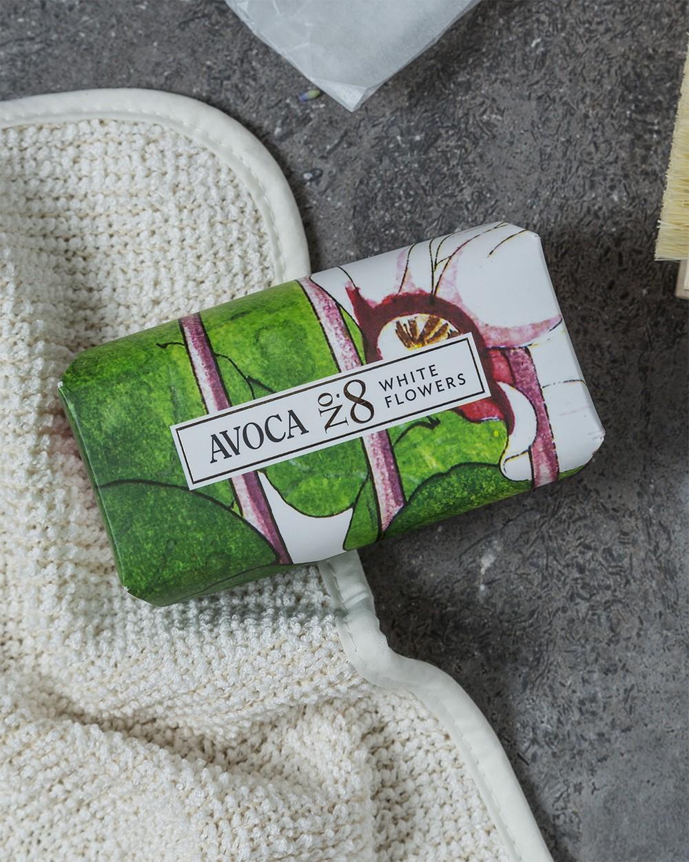 Avoca No 8 Soap - White Flowers