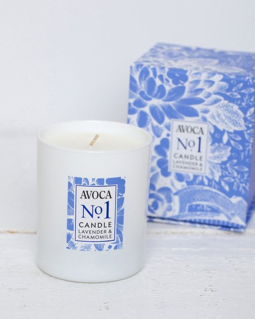 No. 1 Lavender and Chamomile Scented Candle