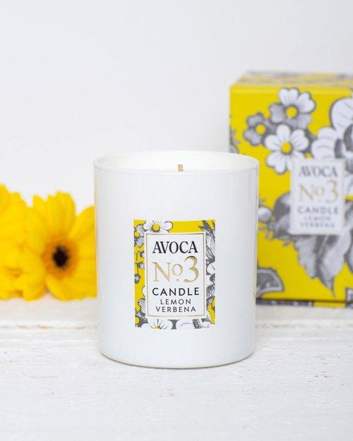 No. 3 Lemon Verbena Scented Candle