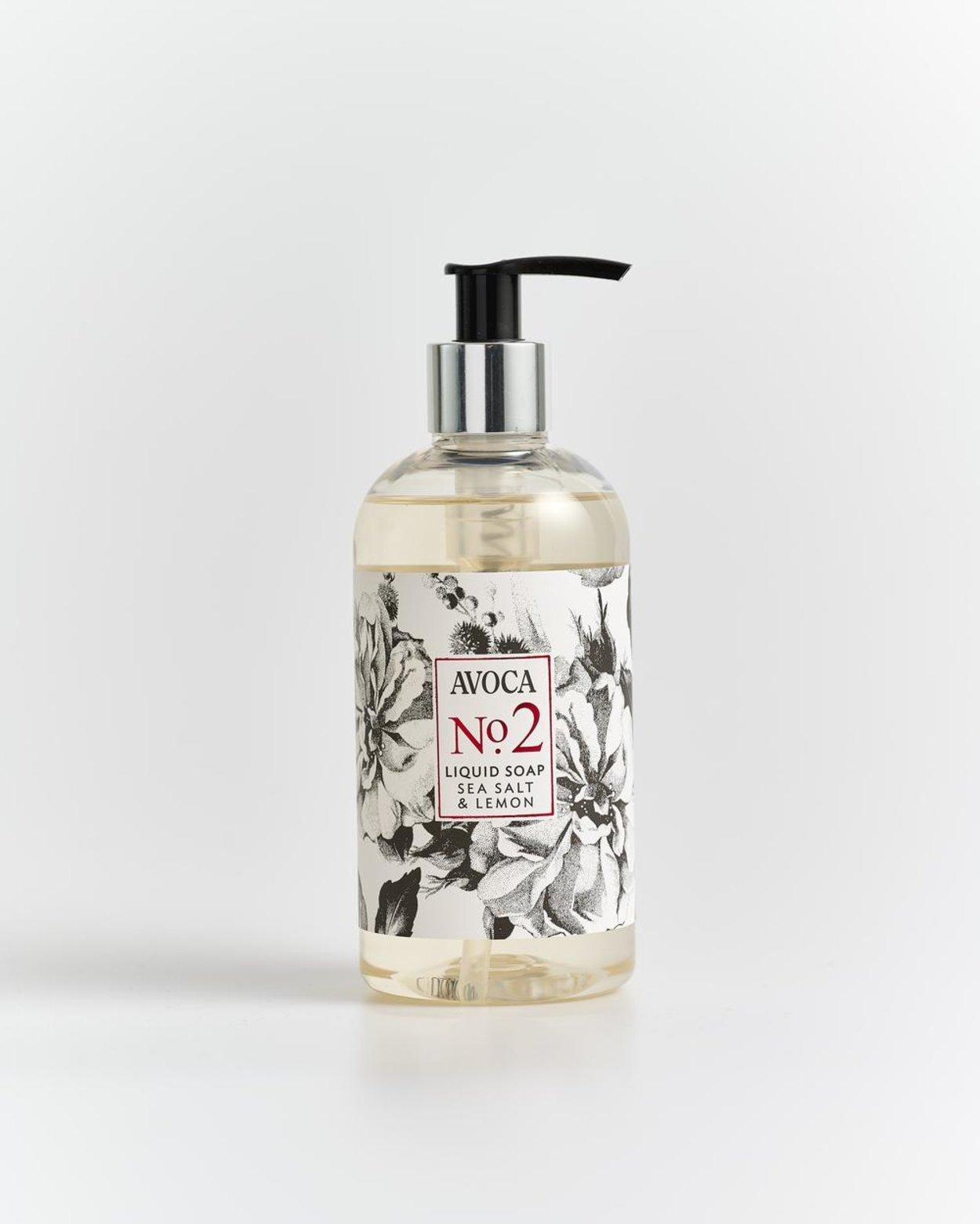 No. 2 Sea Salt & Lemon Liquid Soap