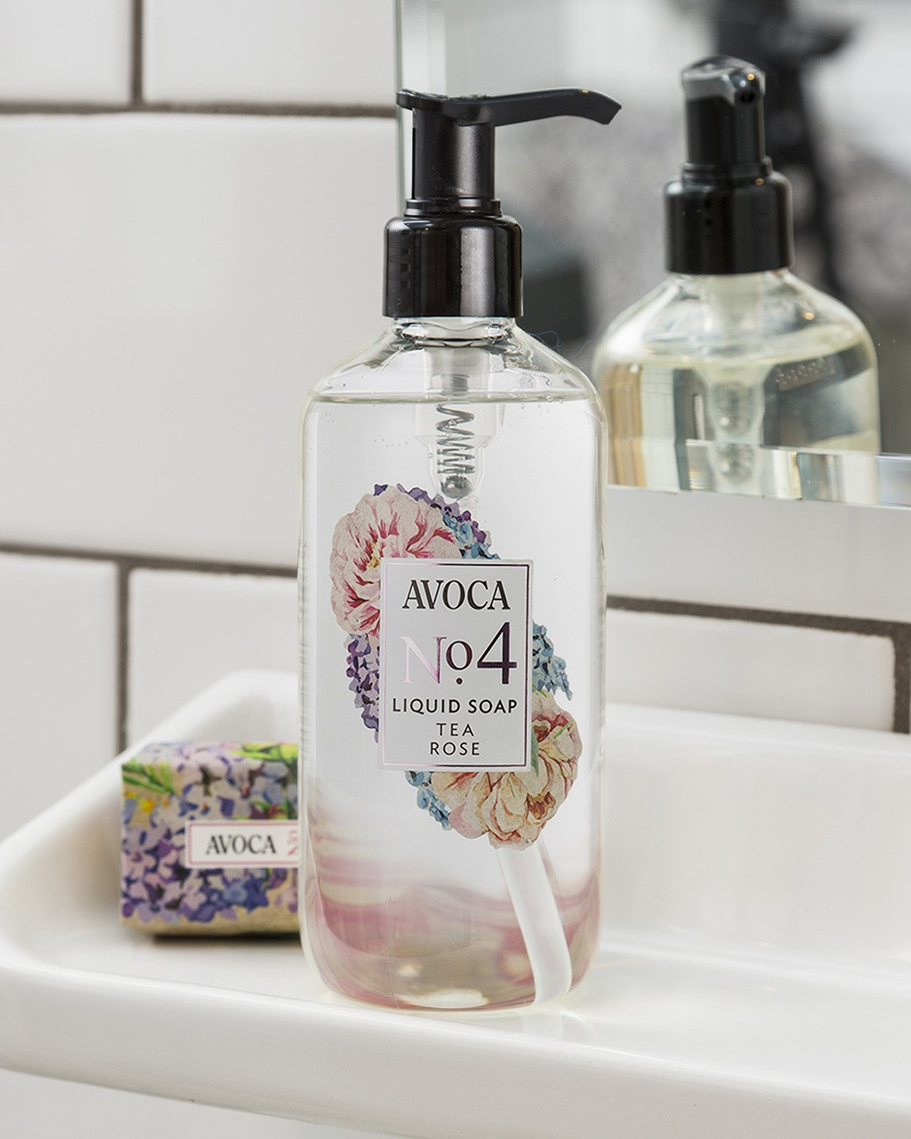 Avoca No 4 Liquid Soap Tea Rose