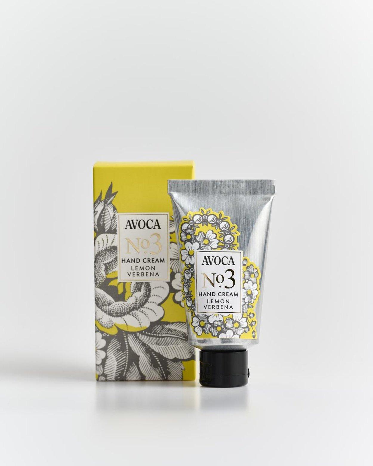 Avoca No 3 Hand Cream - Lemon Verbena