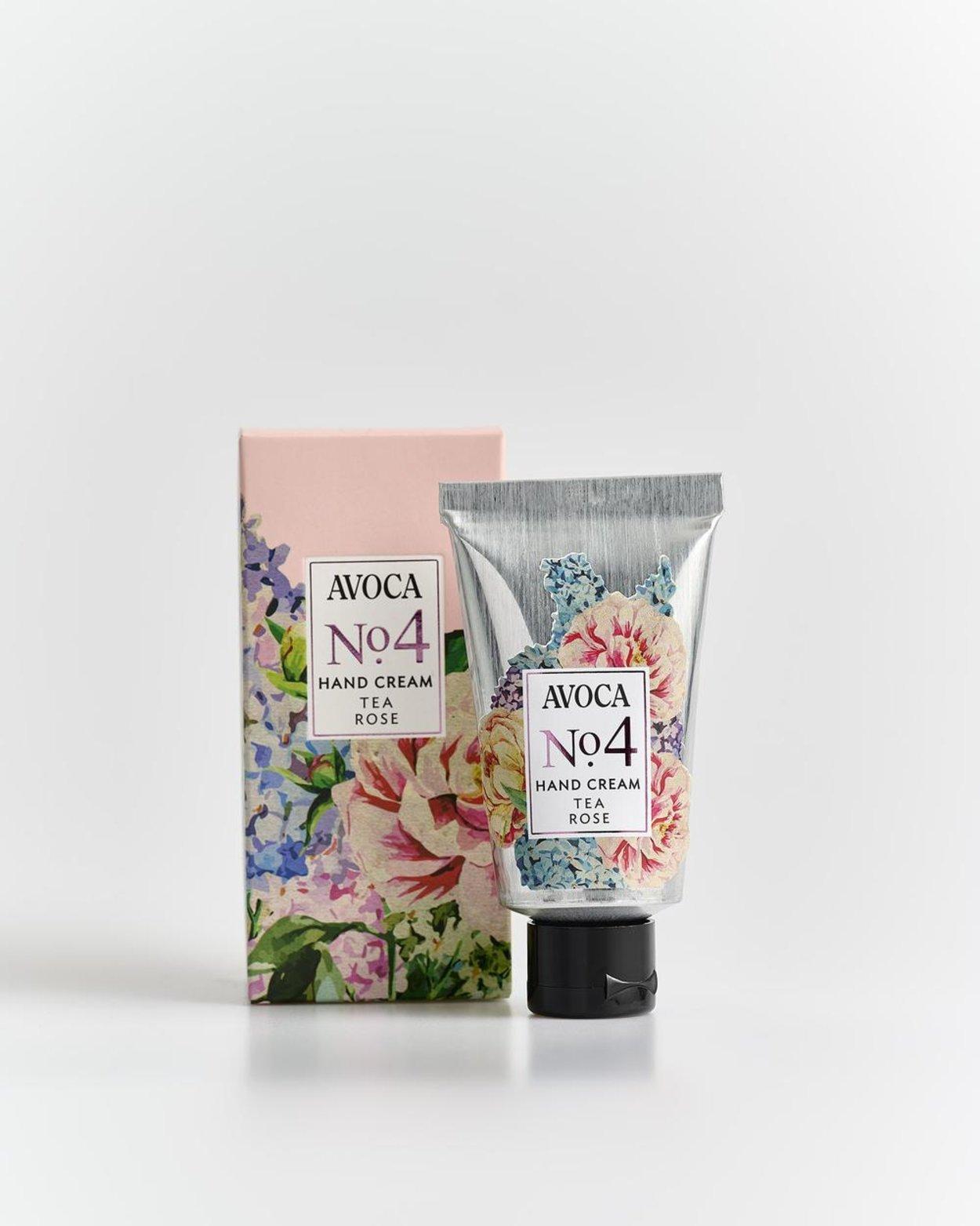 Avoca No 4 Hand Cream - Tea Rose