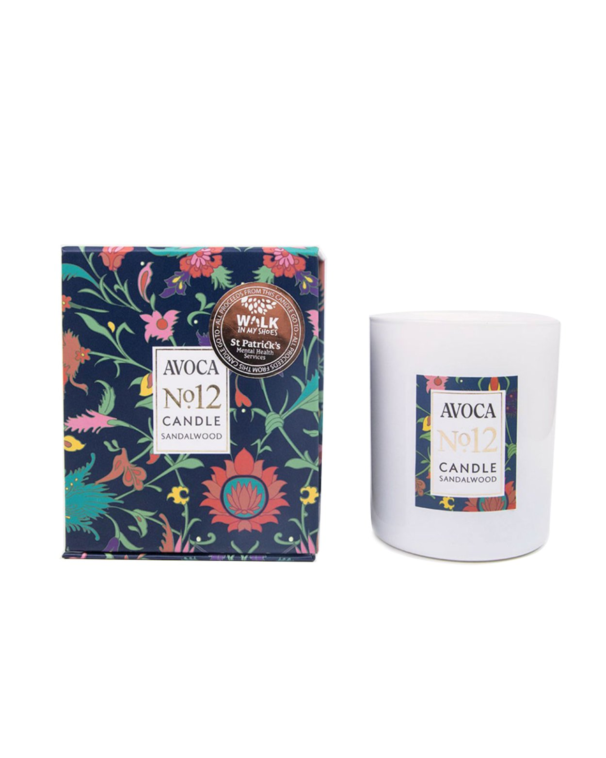 Charity Candle  - No. 12 Sandalwood Scented Candle