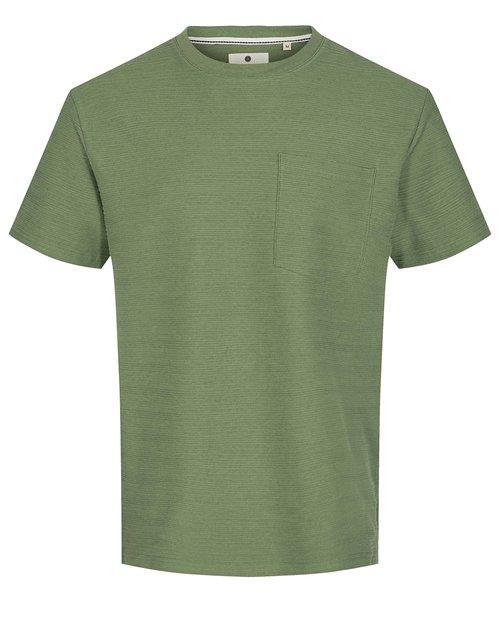 AKKikki Structure Stripe T-Shirt