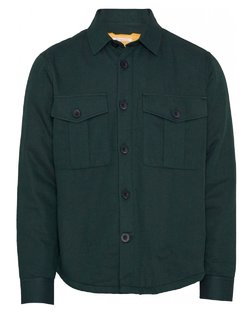 Pine Quilted Overshirt