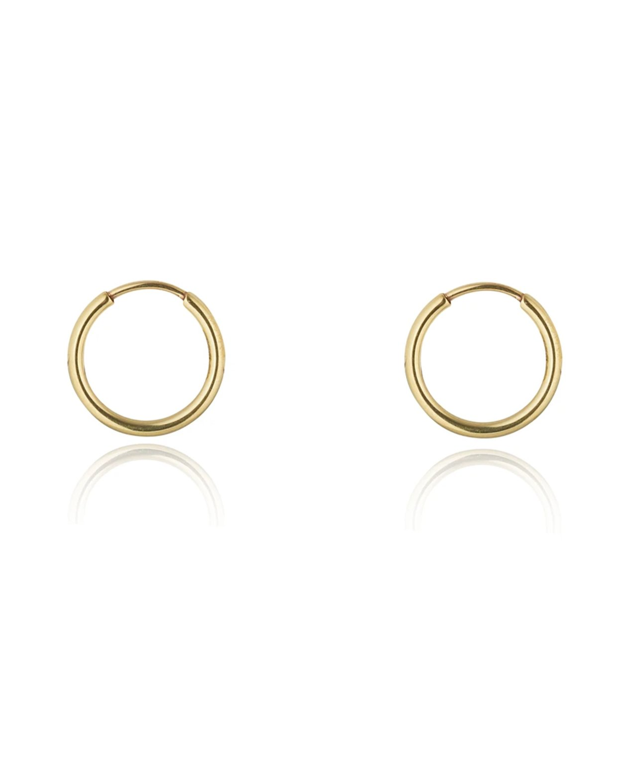 9kt Gold Small Hoops