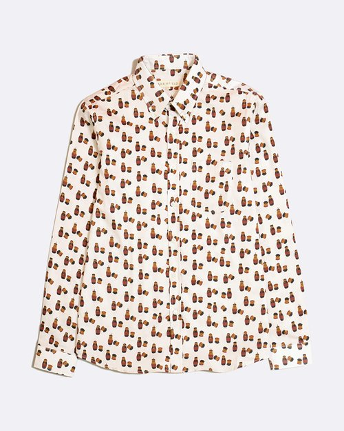 Matryoshka Mod Button Down Shirt