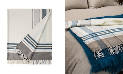Arctic Cashmere Throw