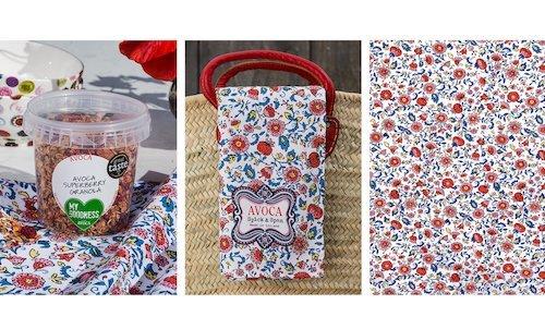 Arts and Crafts Tea Towel