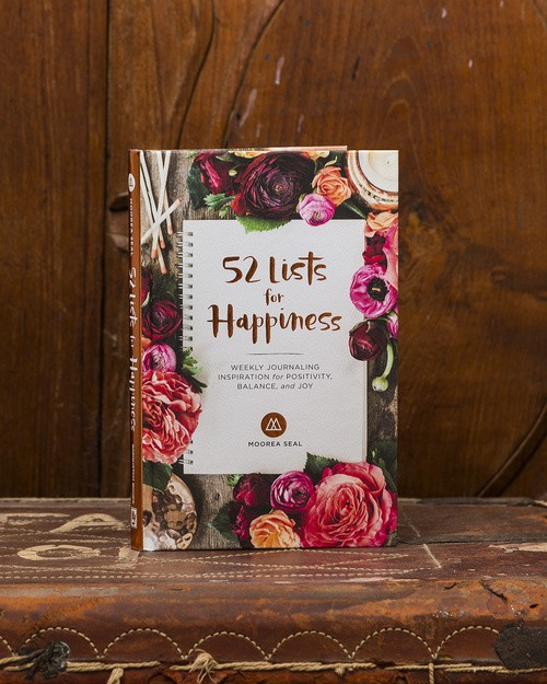 52 Lists for Happiness by More Seal