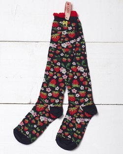 Strawberry Fields Knee Sock