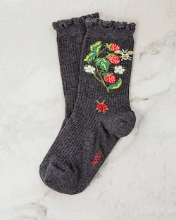 Bugs and Berries Ankle Socks