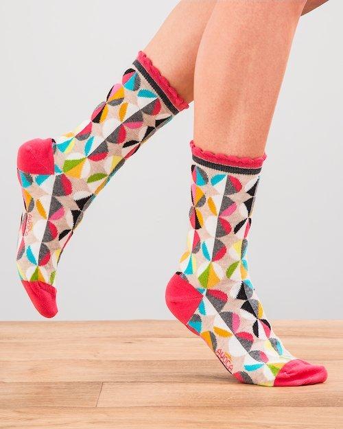 Funky Spot Ankle Socks