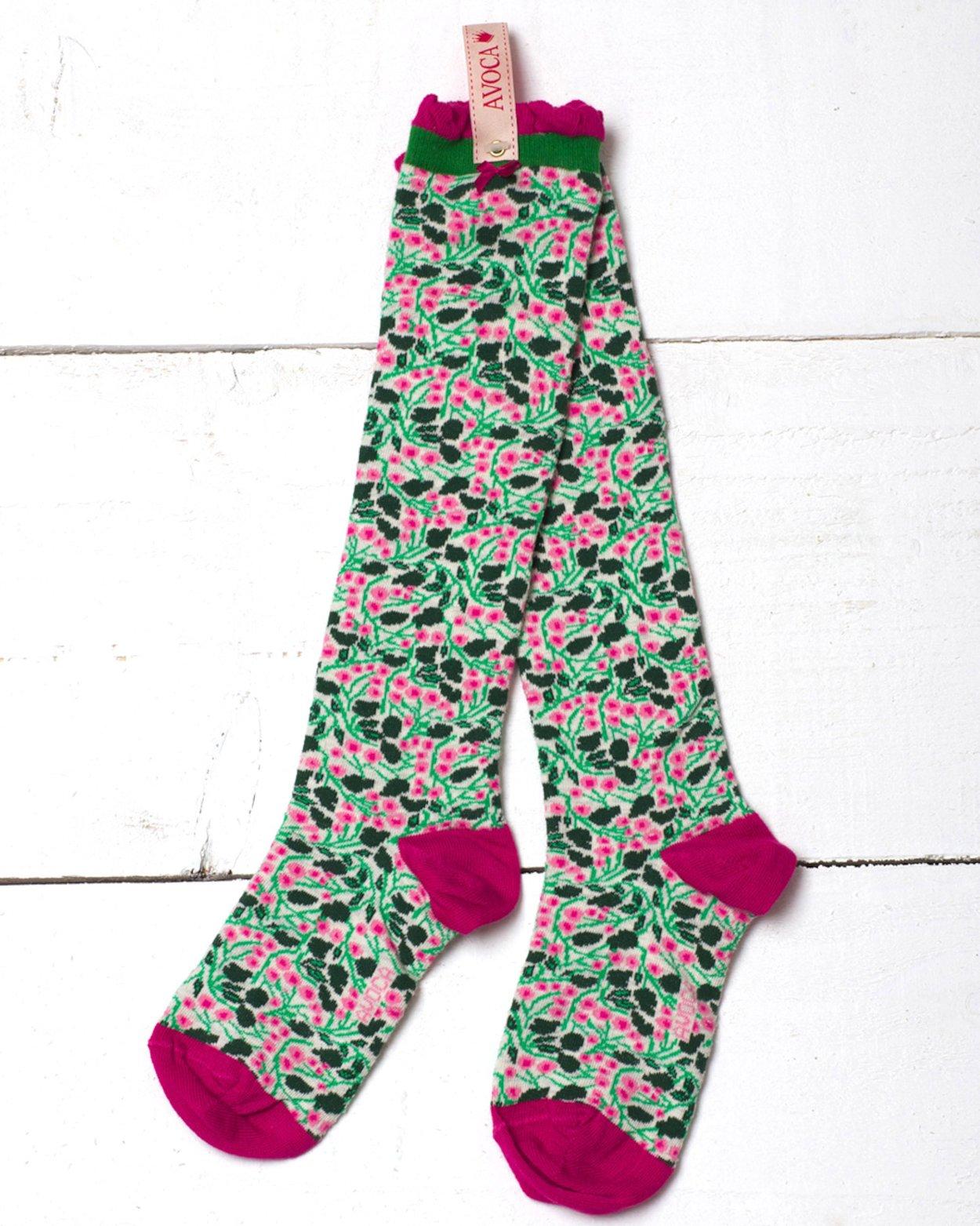 f336ba2cd Dorothy Flower Knee Sock
