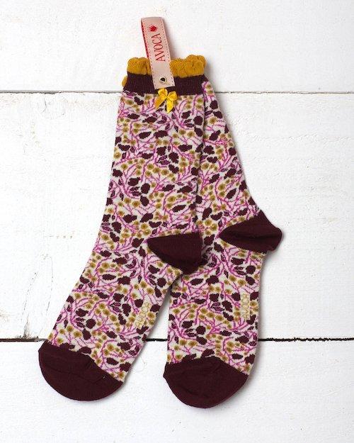 Dorothy Flower Ankle Sock