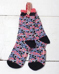 Dorothy Flower Ankle Sock