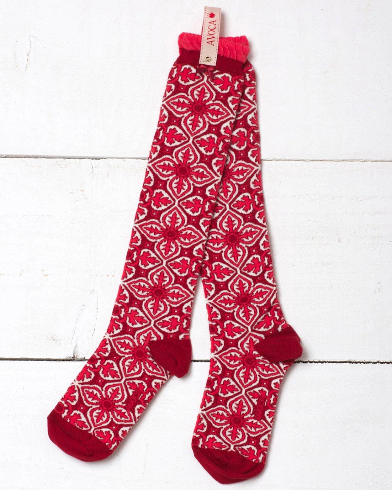 Tile Reverse Knee Sock