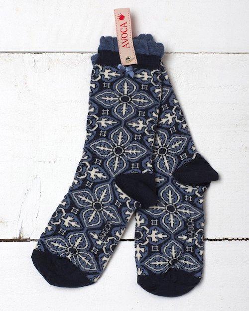Tile Reverse Ankle Sock