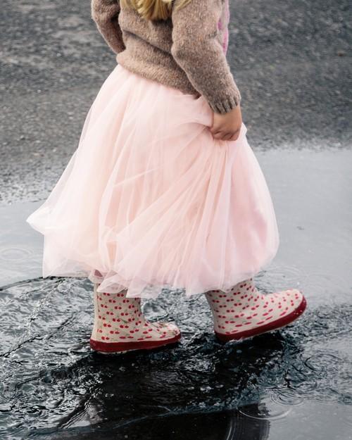 Angel Face Ballet Skirt in Blush