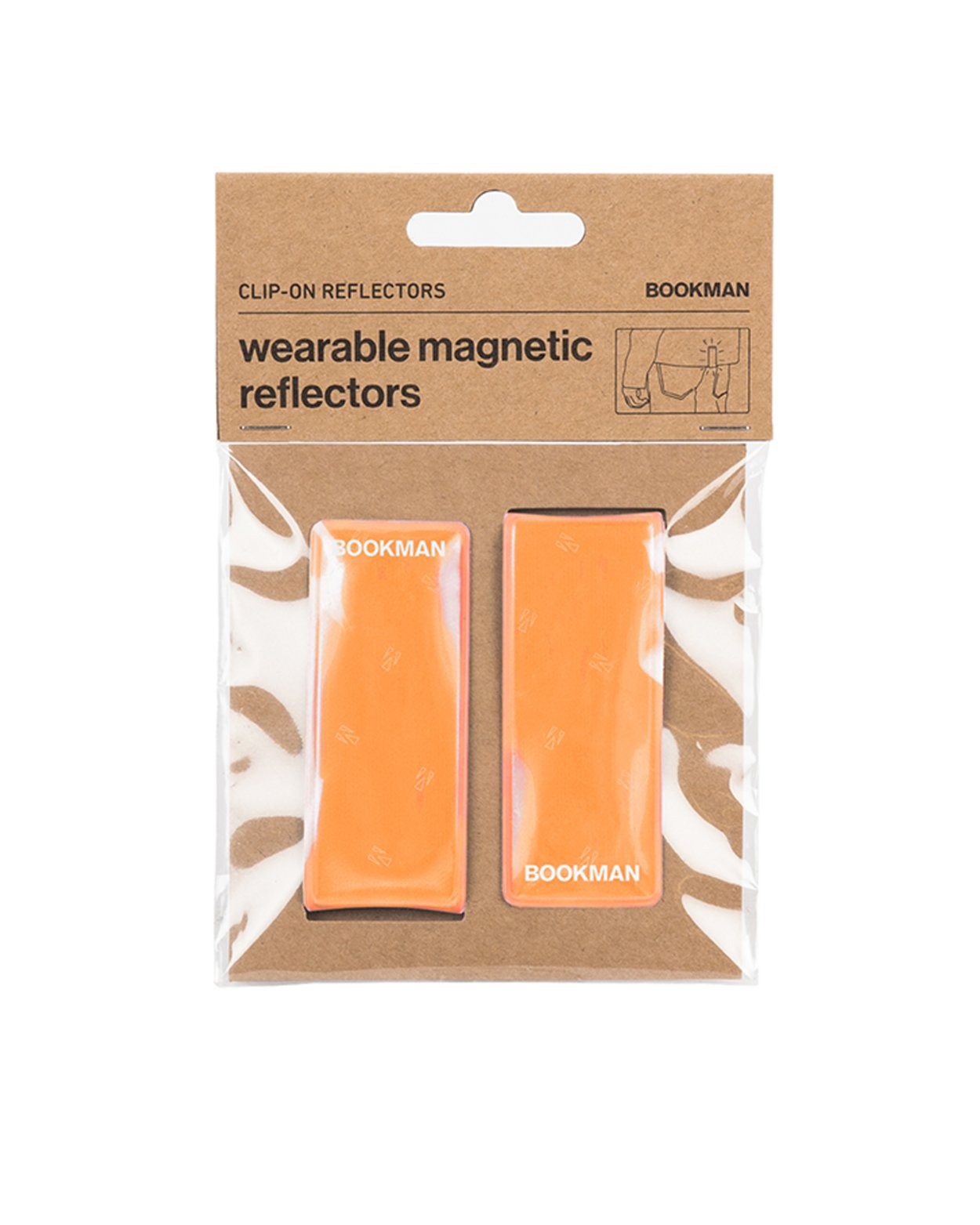 Clip-On Reflectors - Orange