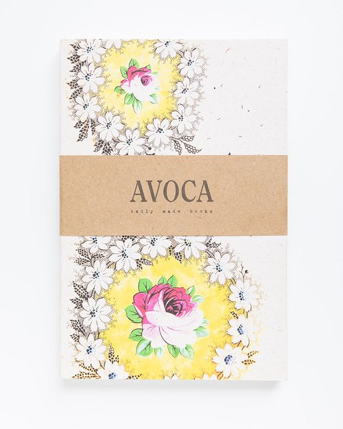 Yellow Daisy Lined Notebook