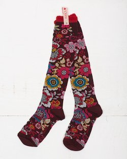 Tapestry Knee Socks