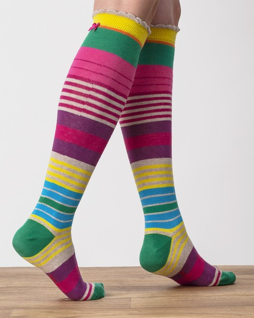 Guatamala Stripe Knee Sock