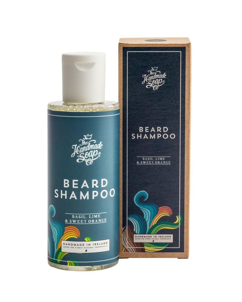 Men's Basil Lime & Sweet Orange Shampoo