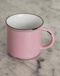 Tinware Mug in Pink