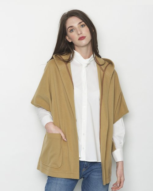 Carrick Hooded Cape