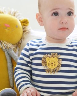 Crochet Lion Babygro
