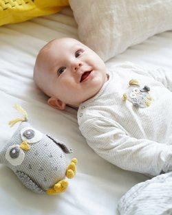 Crochet Owl Babygro