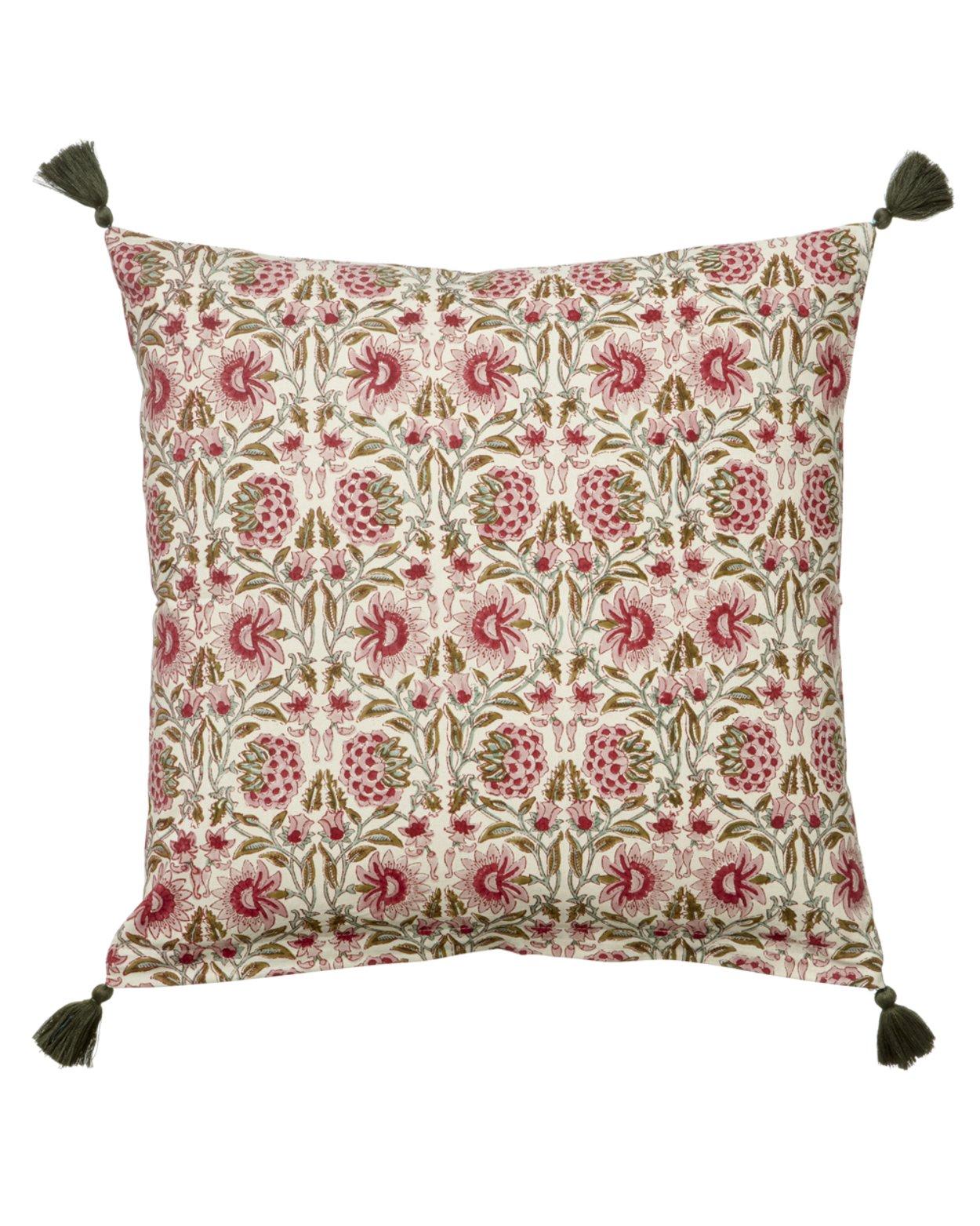 Deoli Salsa Cotton Cushion Cover