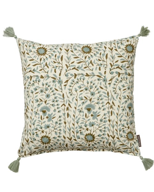 Kollam Moss Cotton Cushion Cover
