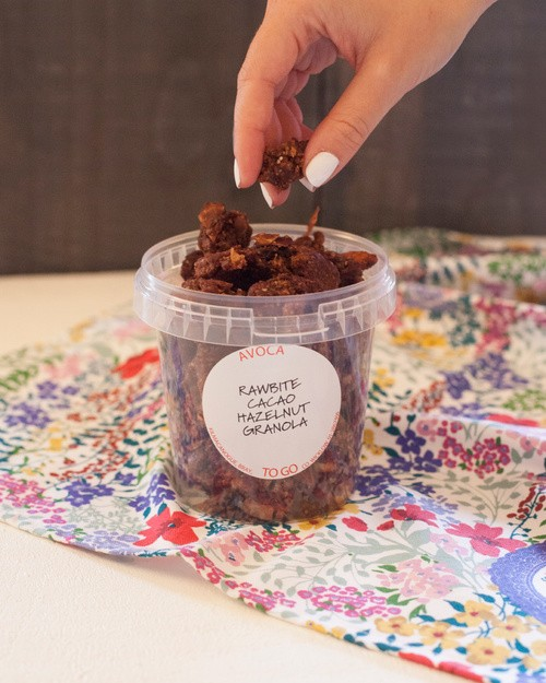 Raw Cacao Granola