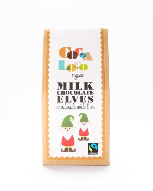 Organic Milk Chocolate Elves