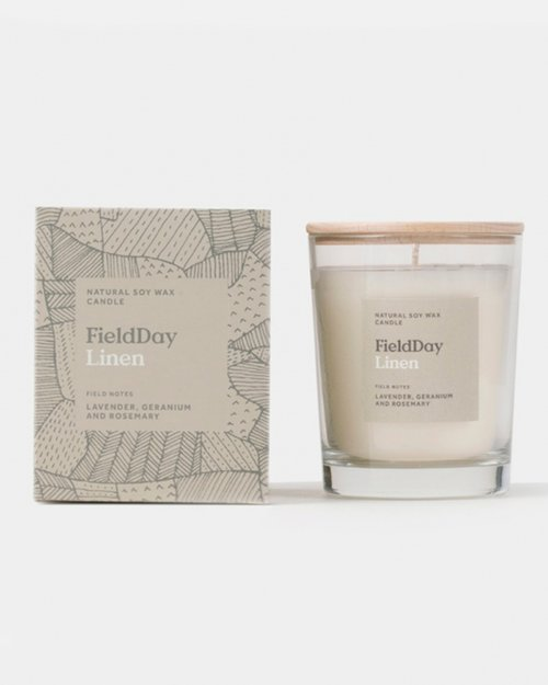 Linen Large Scented Candle