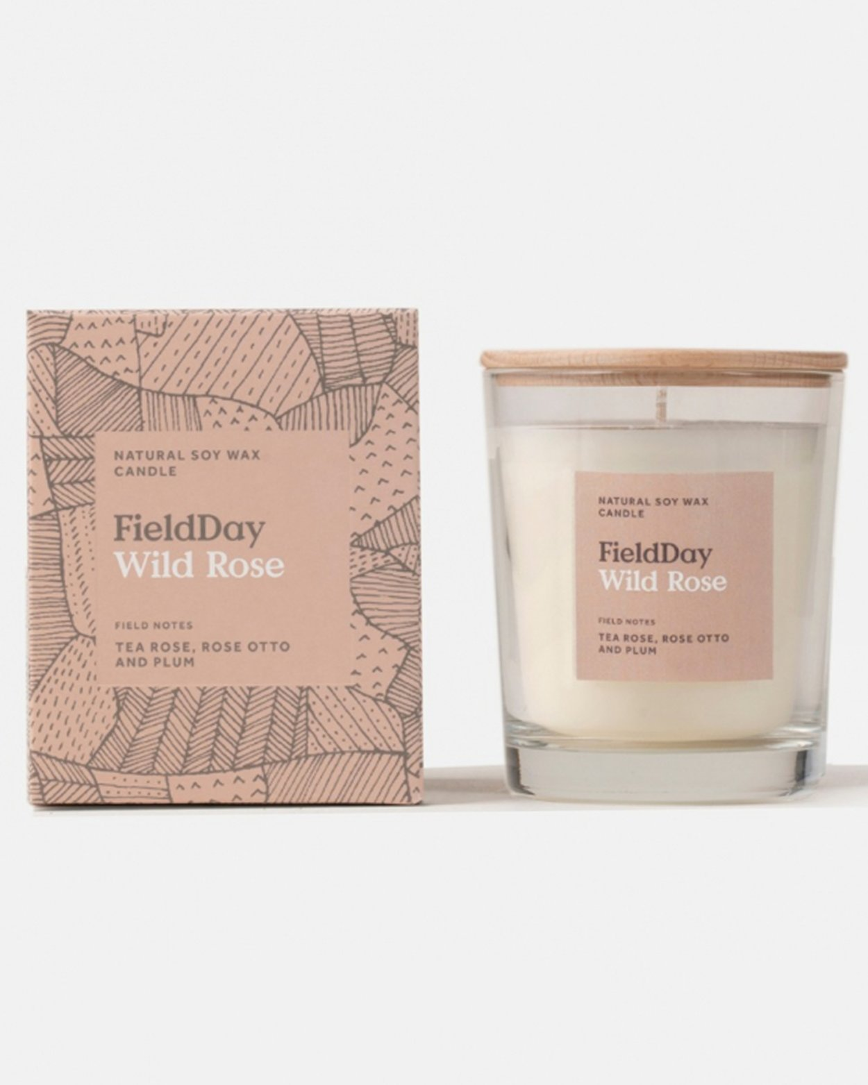 Wild Rose Large Scented Candle