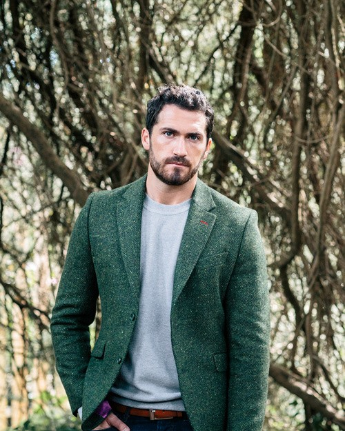 Tweed Dawson Jacket - Green