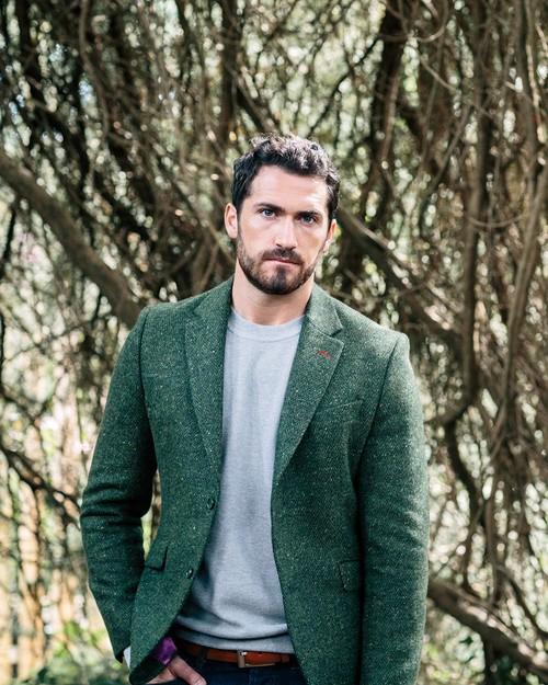 Tweed Dawson Jacket - Green
