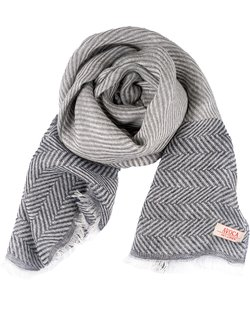 100% Linen Large Twill Scarf
