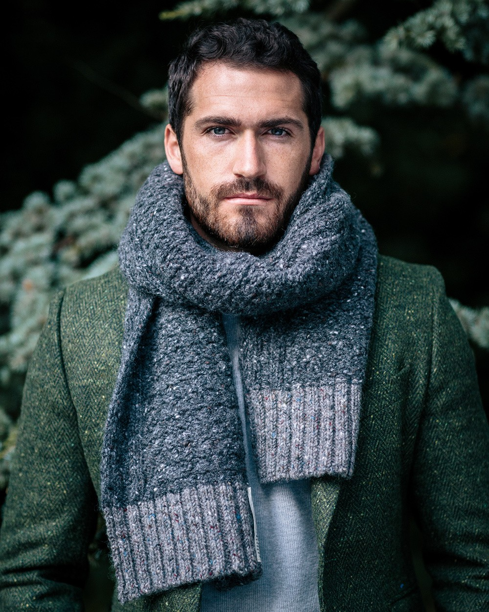 Donegal Yarn Tourist Scarf