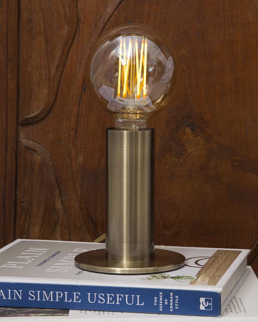 Brass Sol Lamp
