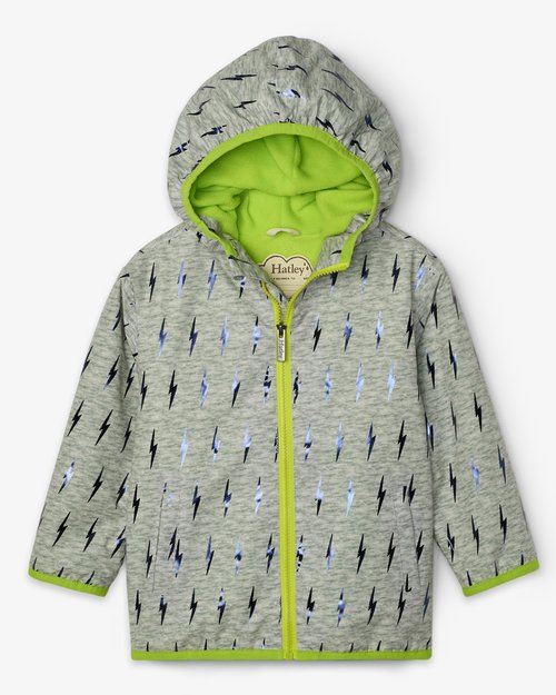 Lightning Bolts Rain Jacket