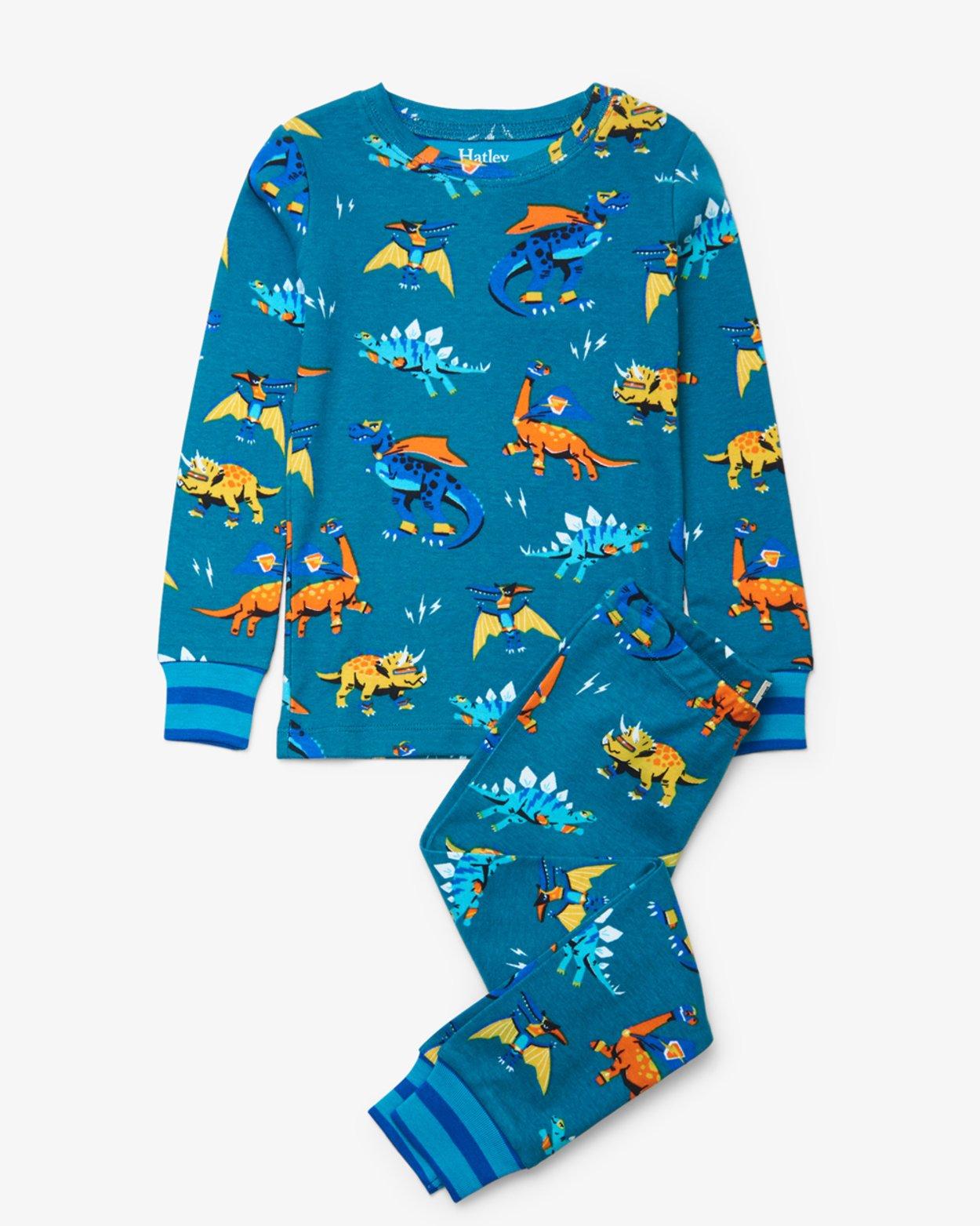 Superhero Dino Pajama Set